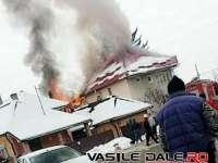 VIDEO: BAIA SPRIE - O gospodărie din localitate a ars ca o torță