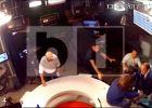 VIDEO: BOX - Imaginile cu momentul șocant în care Palada îl agresează pe Goțiu în studiourile B1 TV