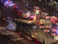 VIDEO: Camion intrat în mulțimea de la târgul de Crăciun din Berlin: 12 morți și 48 de răniți; probabil atentat terorist
