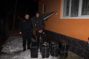 VIDEO CONTRABANDĂ: 9.000 pachete de ţigări descoperite la Bocicoiu Mare şi Sarasău