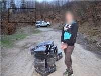 VIDEO: Contrabandişti opriţi cu focuri de armă şi  zeci de mii de pachete de ţigări de contrabandă confiscate