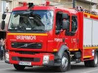 VIDEO: Copil salvat din râul Săsar de pompierii băimăreni