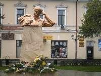 VIDEO: Dezvelirea bustului poetului naţional ucrainean Taras Şevcenko la Sighetu Marmaţiei