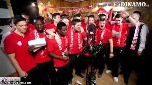 VIDEO: FC Dinamo București și-a lansat noul imn,