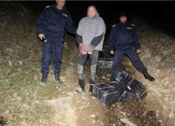 VIDEO - FOCURI DE ARMĂ LA FRONTIERĂ - Opt contrabandiști retinuți de Polițiștii de frontieră sigheteni