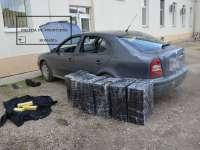 VIDEO: Ţigări în valoare de 450.000 lei confiscate şi contrabandişti opriţi cu focuri de armă la frontiera de nord