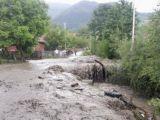 VIDEO: Gospodării inundate în BORȘA și SUCIU DE SUS