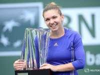 VIDEO: Halep a câștigat turneul de la Indian Wells