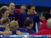 VIDEO: Handbal feminin - România a învins Danemarca și e ca și calificată la Jocurile Olimpice