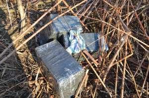 VIDEO:  Ţigări de contrabandă confiscate la frontiera de nord