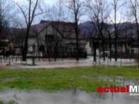 VIDEO - Inundații în Țara Lăpușului și Baia Mare din cauza ploilor torențiale