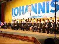 """VIDEO - Klaus Iohannis, în Baia Mare: """"Sunt convins că voi câștiga"""""""
