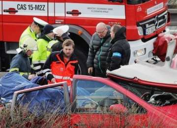 VIDEO: Lacrimi și durere în familiile maramureșenilor decedați în accidentul rutier din Cehia