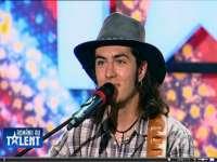VIDEO: Liviu Bora, tânărul din Vişeu de Sus care a primit trei de `DA` la `Românii au talent`