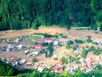 VIDEO – Mai multe localităţi din Maramureş au fost inundate în urma ploilor torențiale