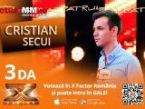 VIDEO: Maramureșeanul Cristian Secui la X FACTOR România