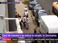 VIDEO - O bătaie în stradă între clanurile de țigani dintr-un oraș din Germania i-a îngrozit pe localnici