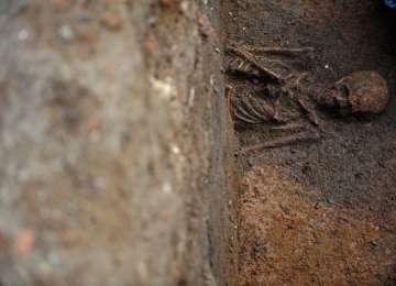 VIDEO: O groapă comună, plină cu sute de schelete umane, descoperită la Dej