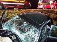 VIDEO ŞOCANT: Un mort şi un rănit în urma unui accident petrecut aseară în Maramureş