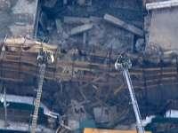 VIDEO - Panică în New York: O clădire s-a prăbuşit în centrul oraşului