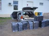 VIDEO: Peste 30.000 pachete de ţigări de contrabandă descoperite la frontiera de nord