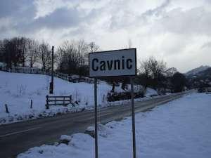VIDEO - Primul strat de zapadă din această iarnă s-a depus la Cavnic
