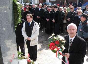 VIDEO: Revoluţia maghiară din 1848, sărbătorită şi la Sighetu Marmaţiei