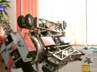 VIDEO - Robot industiral în valoare de 500.000 de euro, produs în BORȘA