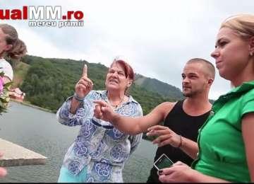 VIDEO - SCANDAL MONSTRU între o mireasă și administrator la Lacul Mogoșa, pornit de la Taxa FOTO