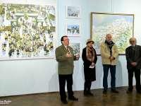 VIDEO - SIGHET: Aproximativ 150 de sigheteni au fost prezenți la cea mai importantă expoziție de pictură din acest an