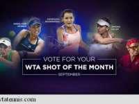 VIDEO: Simona Halep, nominalizată la cea mai frumoasă lovitură a lunii septembrie în circuitul WTA