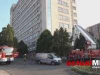 VIDEO: Sinucidere - O femeie de 49 de ani s-a aruncat de la etajul 8 al Spitalului de Recuperare din Cluj. Aceasta nu era o pacientă a spitalului
