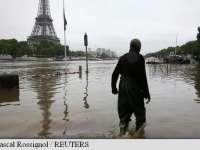 VIDEO: Stare de urgență în Franța - mii de oameni evacuați din cauza inundațiilor