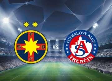 VIDEO - Steaua, calificare cu emoţii în Liga Campionilor - A pierdut meciul cu Trencin, dar merge în turul III