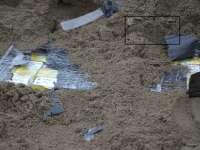 VIDEO: Țigări de contrabandă ascunse într-o căruță cu nisip la Crăciunești