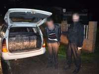 VIDEO: Țigări de contrabandă confiscate de polițiștii de frontieră la Oncești