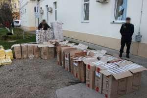 VIDEO - Țigări de contrabandă în valoare de 2,4 miliarde lei, confiscate de polițiștii de frontieră