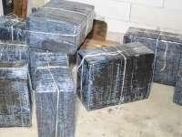 VIDEO: Țigări în valoare de aproximativ 166.000 lei confiscate de polițiștii din cadrul I.T.P.F. Sighetu Marmației
