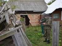 VIDEO - Trei cetăţeni ucraineni implicaţi în contrabandă, reţinuţi cu  ajutorul câinelui de intervenţie
