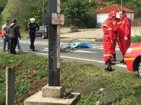 VIDEO: Un biciclist a decedat după ce a fost călcat de remorca unui TIR