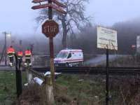 VIDEO: Un maramureșean a decedat după ce a fost lovit de tren