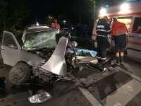 VIDEO: Un mort și șase persoane rănite într-un accident petrecut azi-noapte în Maramureș