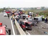 VIDEO: Un român a provocat un grav accident în Grecia. Patru persoane au decedat