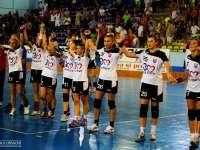 VIDEO - Victorie pentru HCM Baia Mare în Liga Campionilor. Vezi reacția suporterilor la fluierul final