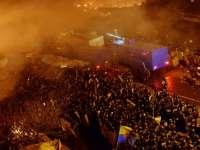 VIOLENŢE în UCRAINA - 25 de morţi şi sute de persoane rănite