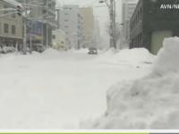 VIDEO - ZĂPADĂ de 2 metri. Furtunile răvăşesc Japonia