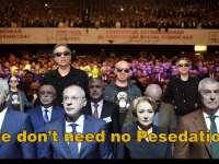 """VIDEOCLIP: """"We don`t need no PeSeDation"""", imnul protestului Diasporei la București, pe linie melodică Pink Floyd"""