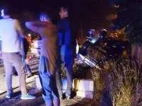 VIŞEU DE SUS - Două maşini făcute praf şi un tânăr din Moisei accidentat grav