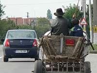 VIŞEU DE SUS: O căruţă în care se aflau mai multe persoane a fost lovită de un şofer fugar