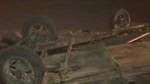 Viseu de Jos - Două victime în urma răsturnării unei căruțe cu fân